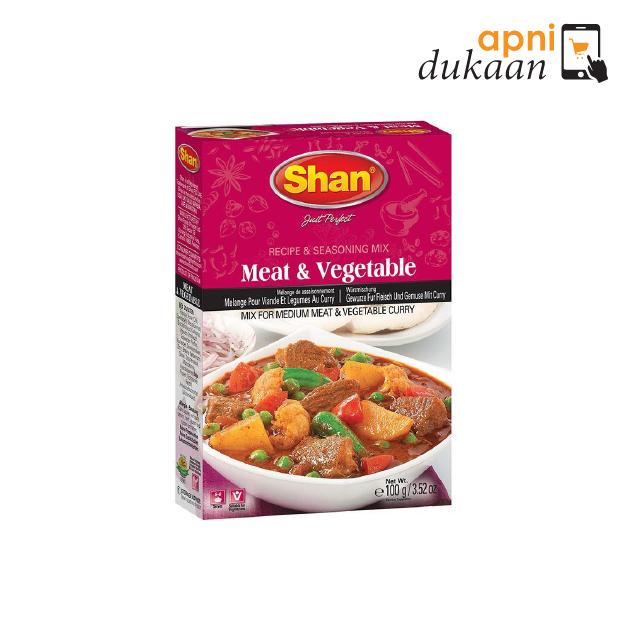 SHAN MEAT & VEGETABLE 100G