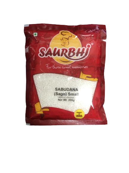 SAURBHI SAGO SMALL (200 GRAM)