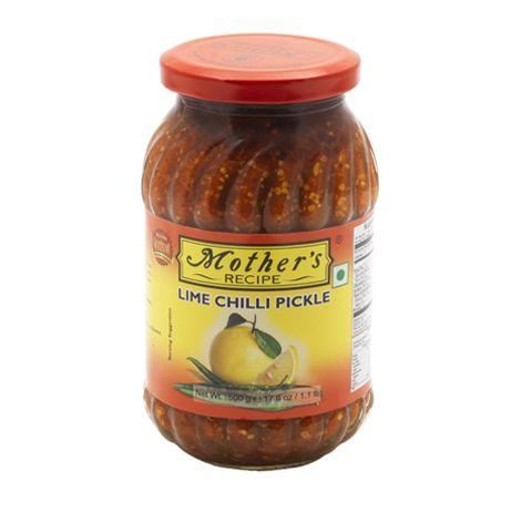 MOTHERS LIME CHILLI PICKLE (500 GRAM)