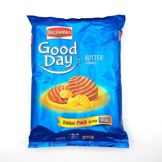 BRITANNIA GOODDAY BUTTER VALUE PACK