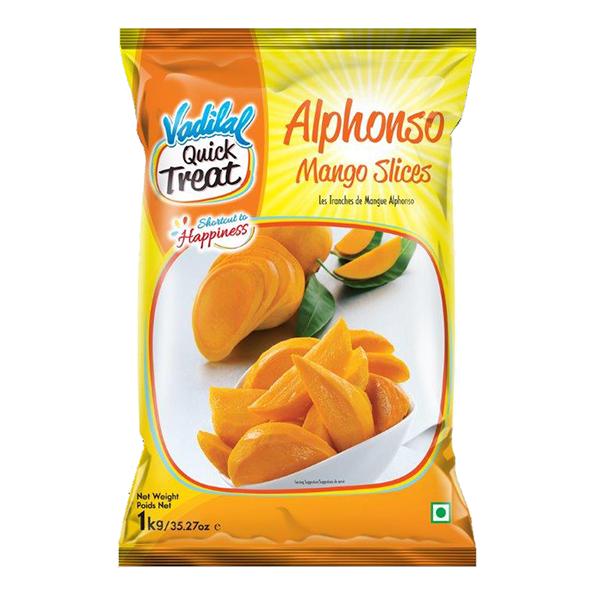 VADILAL ALPHONSO MANGO SLICES (312 GRAM)