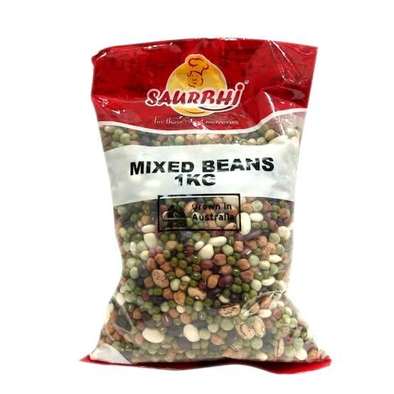 SAURBHI MIXED BEANS (1 KILO)
