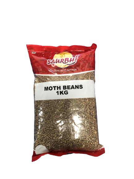 SAURBHI MOTH BEANS 1(KILO)