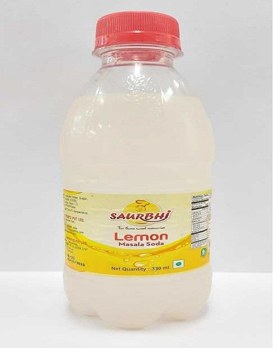 SAURBHI LEMON SODA (330 ML)