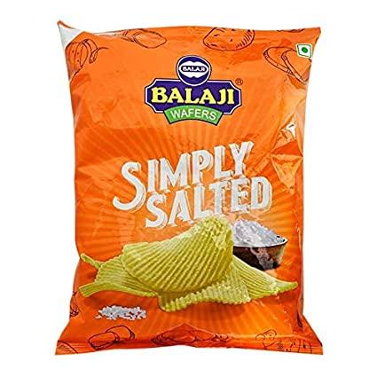 BALAJI SIMPLY SALTED WAFERS 150G