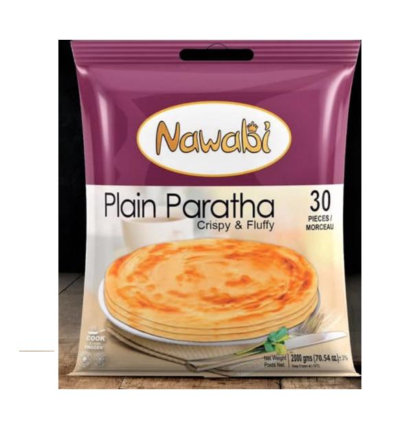 NAWABI PLAIN PARATHA 30 PCS