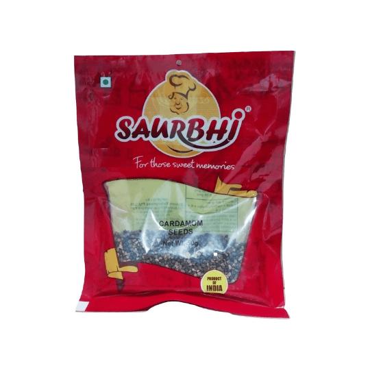 SAURBHI CARDAMOM SEEDS (50 GRAM)