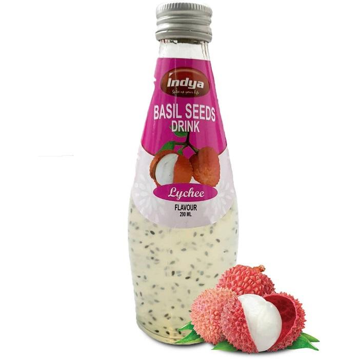 BASIL SEEDS LYCHEE DRINK (290 ml)