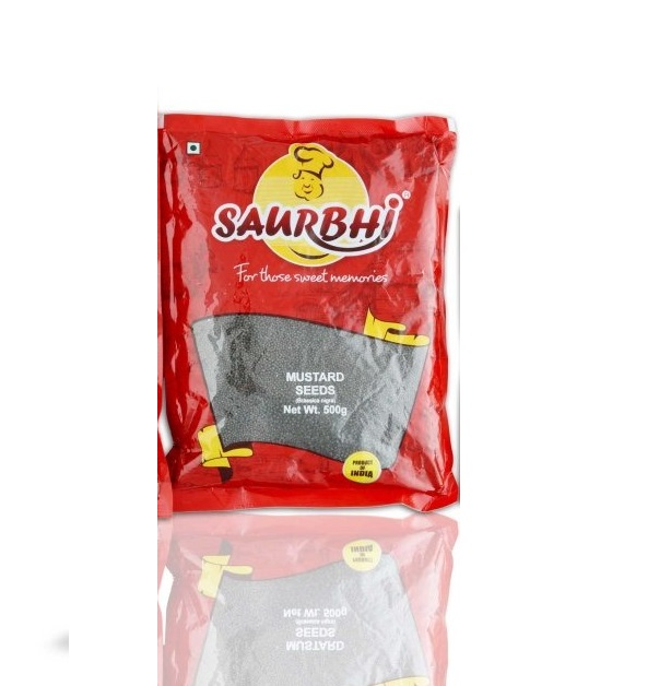 SAURBHI MUSTARD SEEDS 500 G