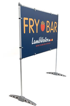 Free Standing Sign with Frame