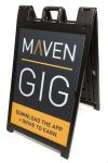 Heavy-Duty Outdoor Sandwich Board A-Frame Sign