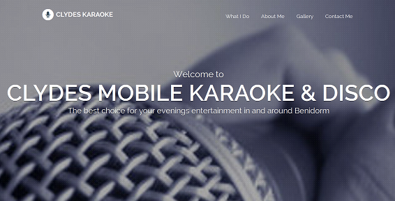 Karaoke Website