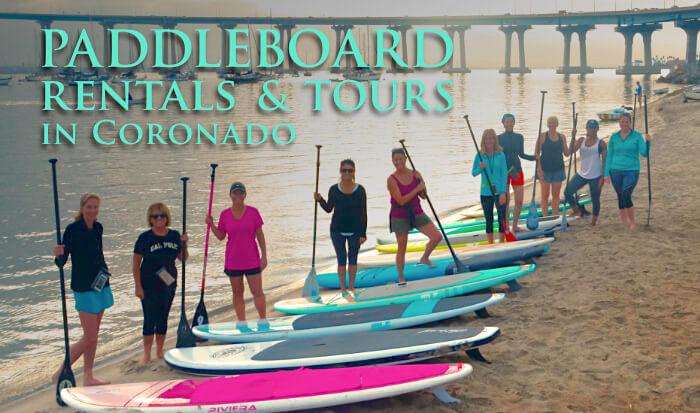 SUP Coronado Paddleboard Rentals & Tours