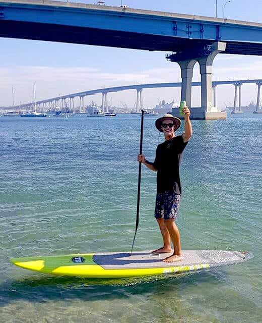 A toast to Sup Coronado!