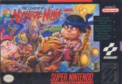 The Legend of the Mystical Ninja