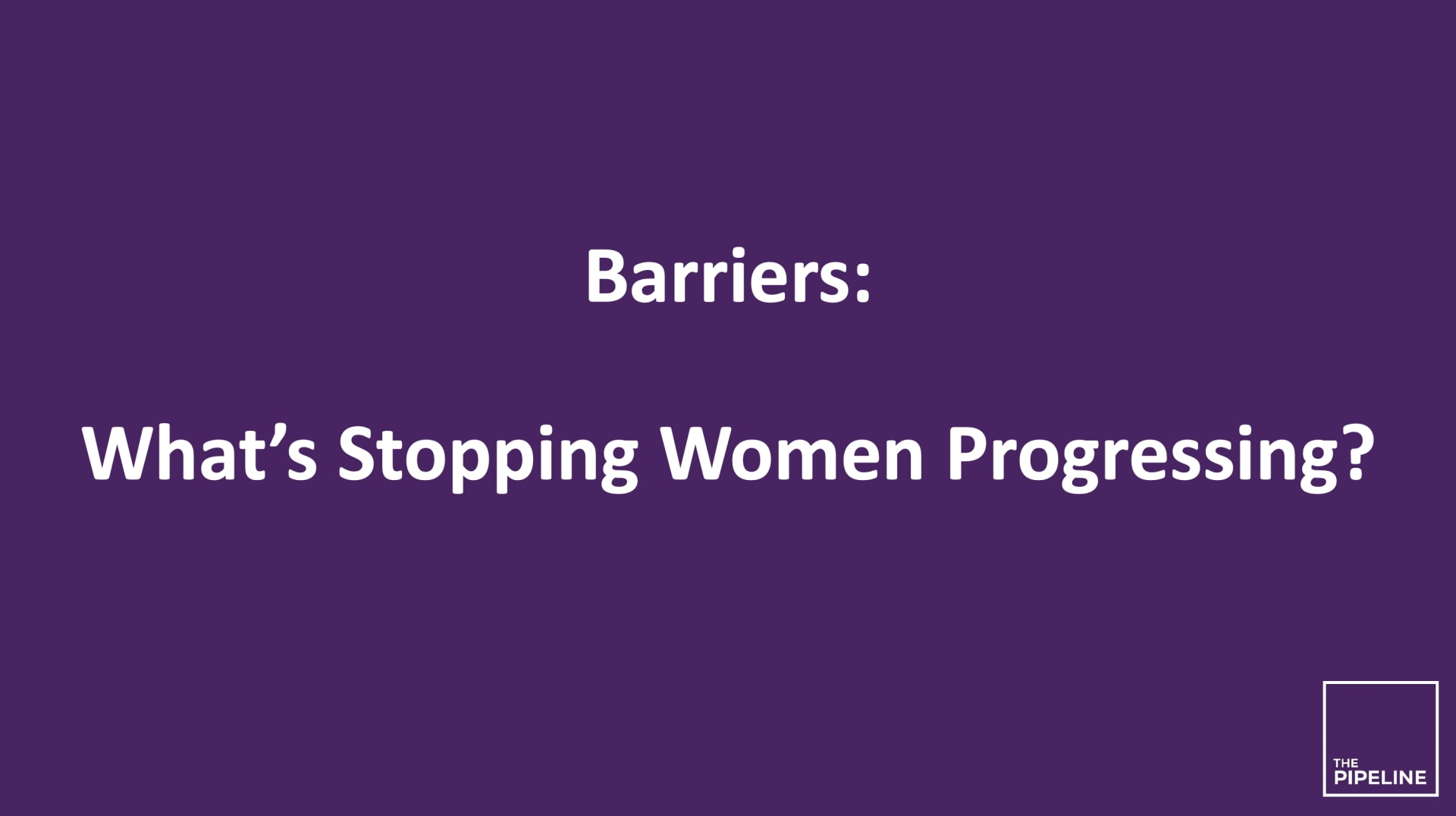 Barriers - Research Library