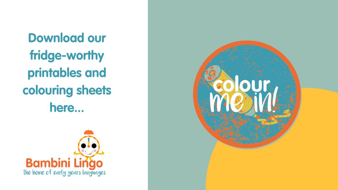 Colouring Sheets - English