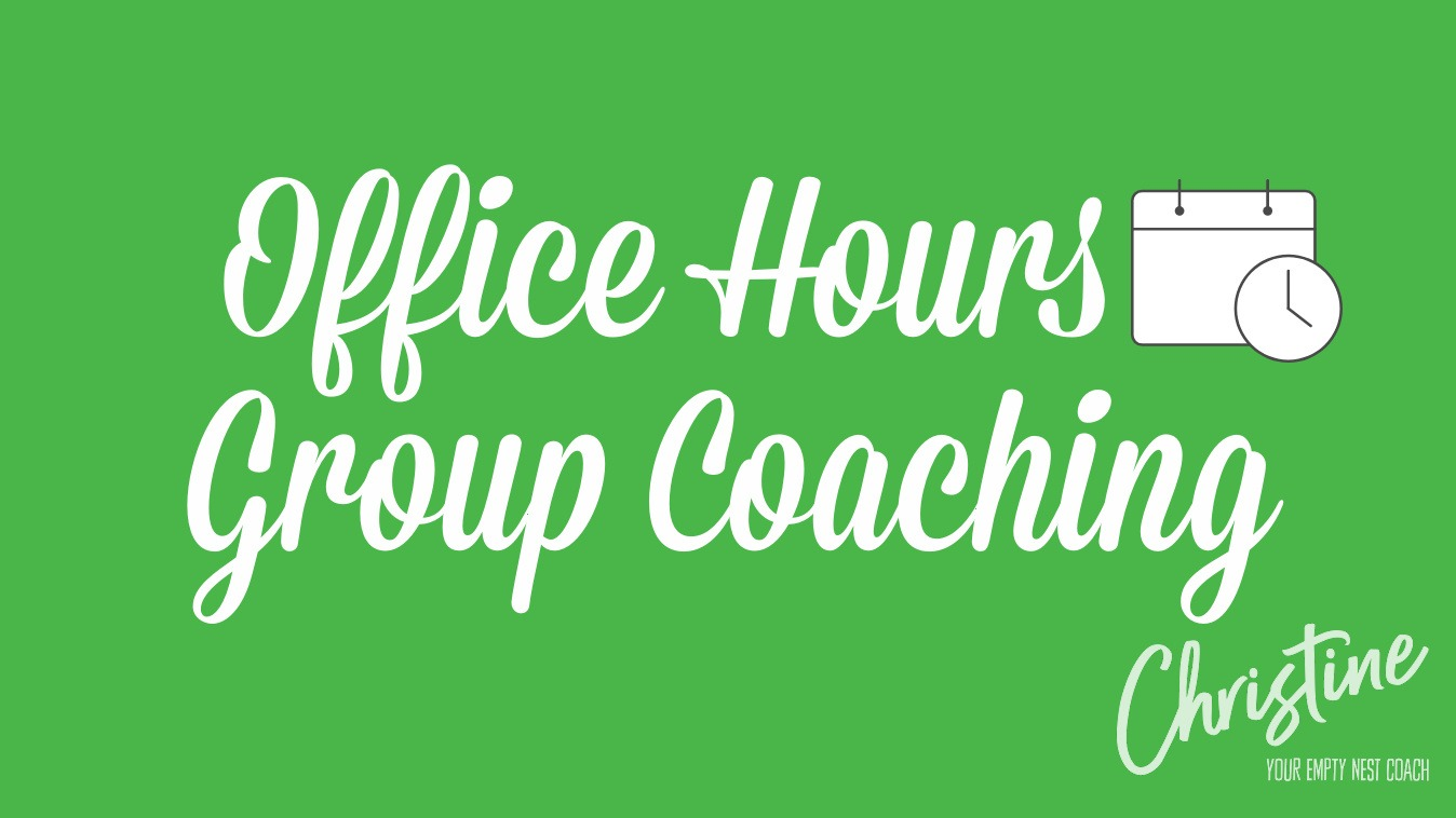 Upcoming Office Hours / Group Coaching Calls
