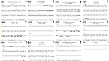 All Drum Transcriptions for 'Conspiracy'