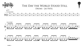 The Day the World Stood Still - Drum Transcription