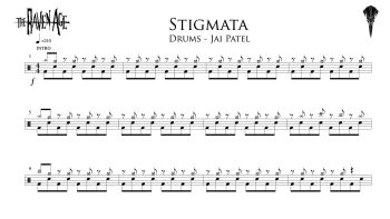 Stigmata - Drum Transcription