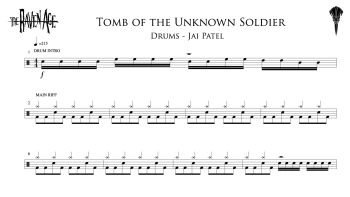 Tomb of the Unknown Soldier - Drum Transcription