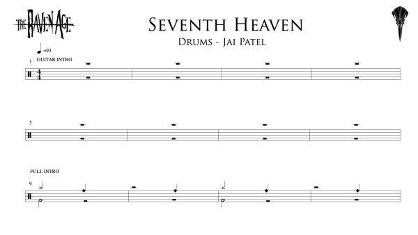 Seventh Heaven - Drum Transcription