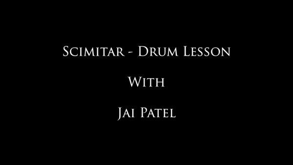 Scimitar - Jai's Drum Lessons
