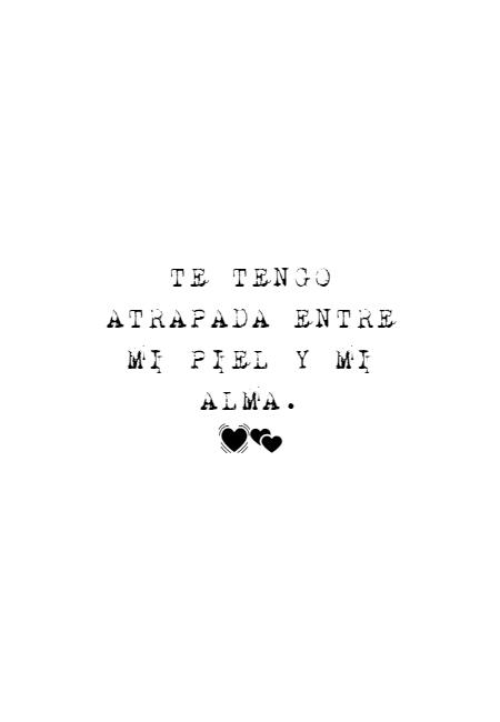 Frases para días de Lluvia - TE TENGO ATRAPADA ENTRE MI PIEL Y MI ALMA.  💓💕