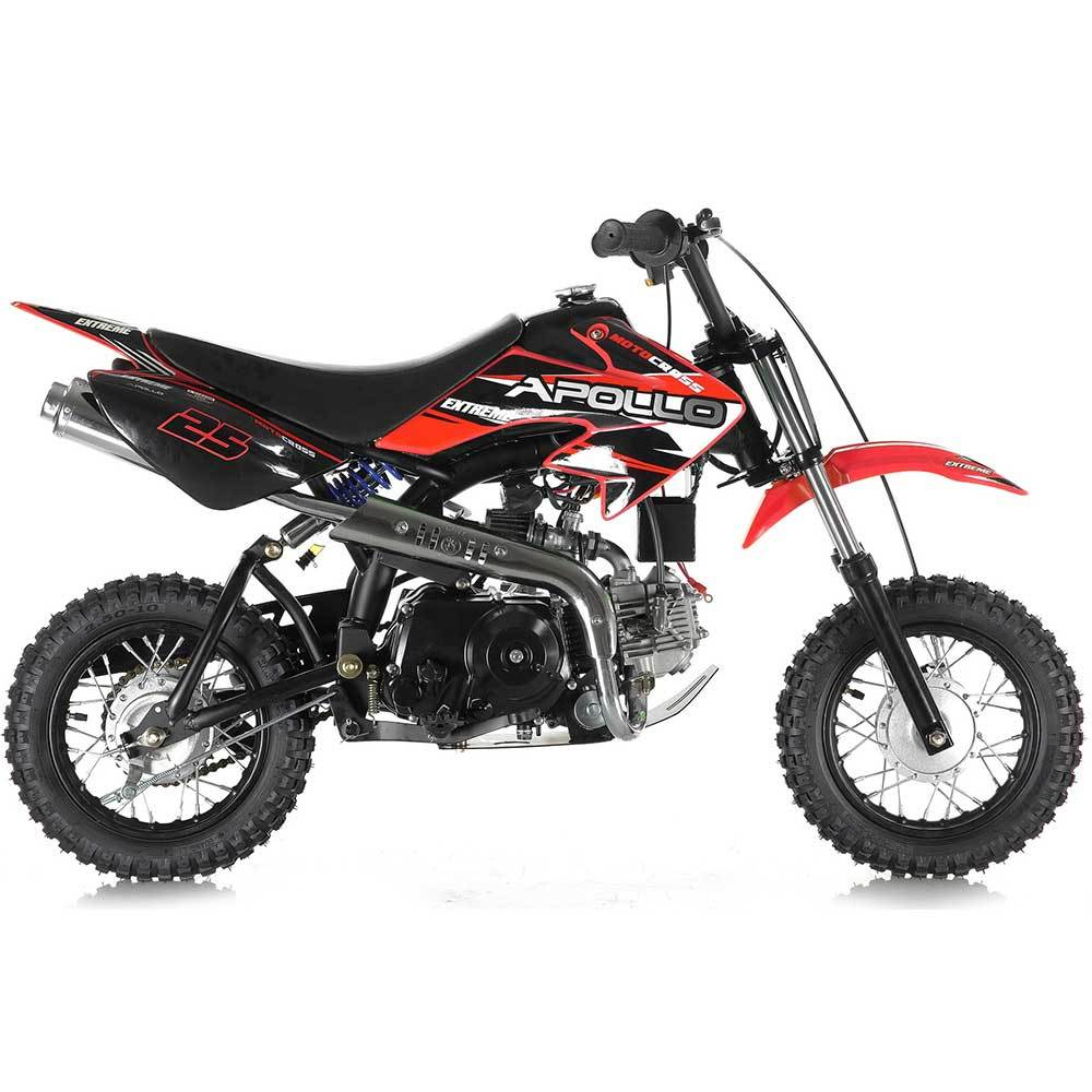 Apollo 70cc Kids Dirt Bike With Training Wheels