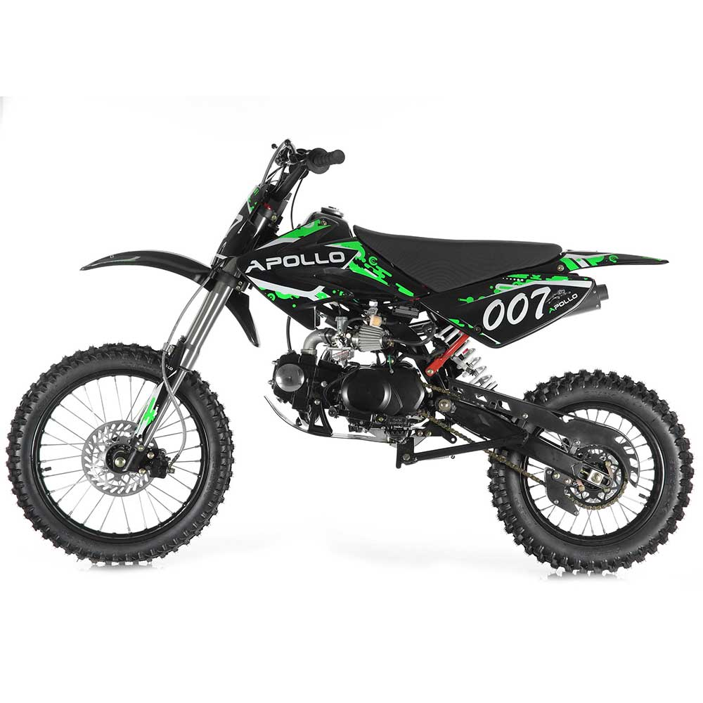 Apollo DB-X6 125cc Dirt Bike
