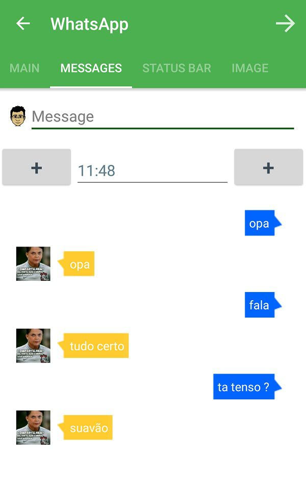 Criar Conversas Fake Whatsapp - Facebook messenger — Super