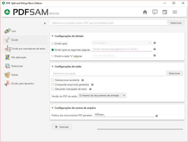 dividir pdf - Busca Baixaki
