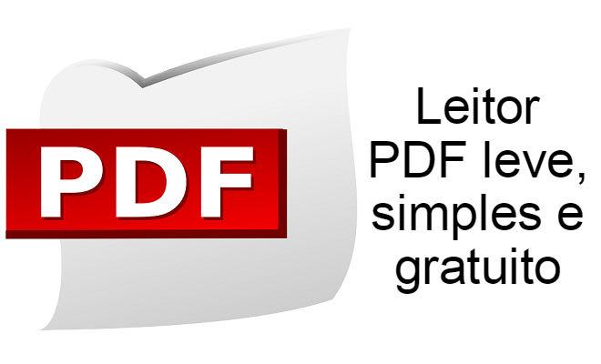 Leitor PDF leve, simples e gratuito — Super Tutorial