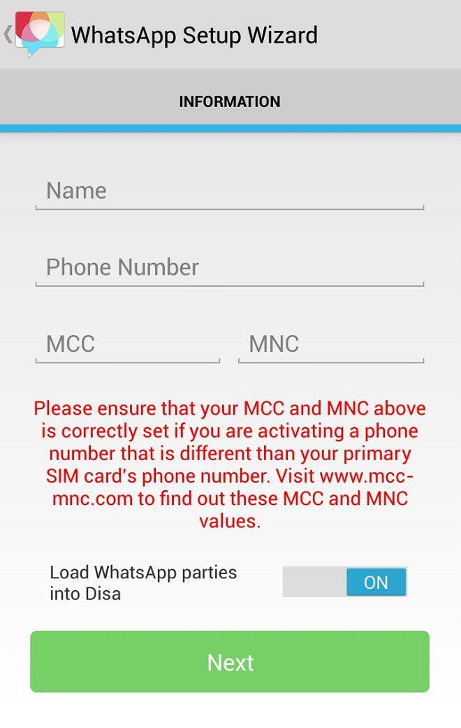 Duas contas whatsapp mesmo aparelho whatsapp duplo dois whatsapp android mcc mnc fandeluxe Gallery