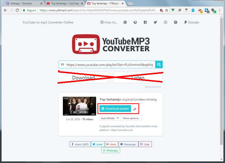 download de musicas do youtube playlist
