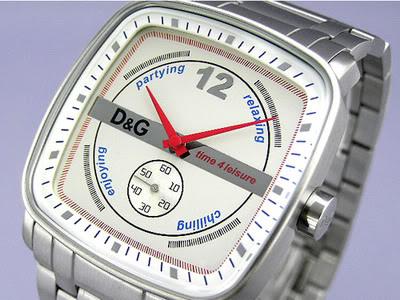 D&G DOLCE & GABBANA DW0054 Reloj para hombres entrega gratis