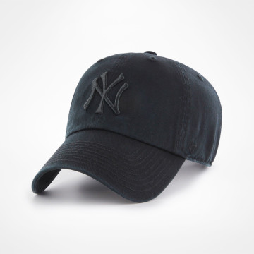 Clean Up All Black Cap