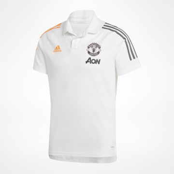 Polo Shirt MUFC - White