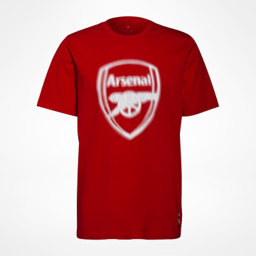 T-shirt Blurred Logo - Röd