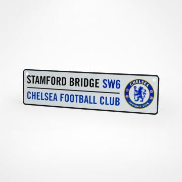 Fönsterskylt Stamford Bridge SW6