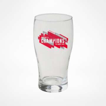 Champions of Europe Pint Glass