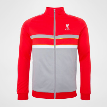 1986 Track Top - Red/Grey