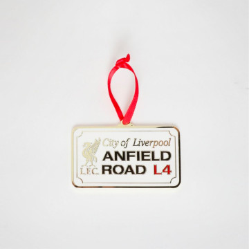 Juldekoration - Anfield Road