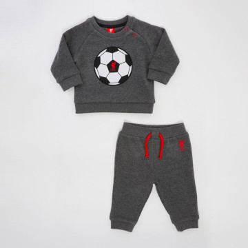 Baby Charcoal Marl Jog Set