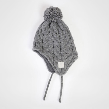 Cable Trapper Hat - Junior