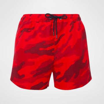 Badbyxor Camo - Röd