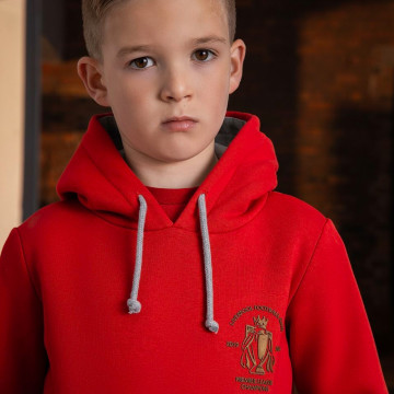 Champions Junior Hoody - Red