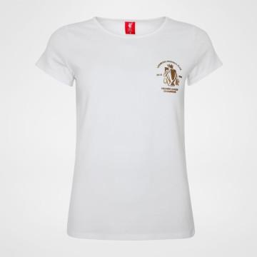 T-shirt Dam Champions - Vit
