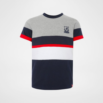 Colour Block Tee Navy - Junior